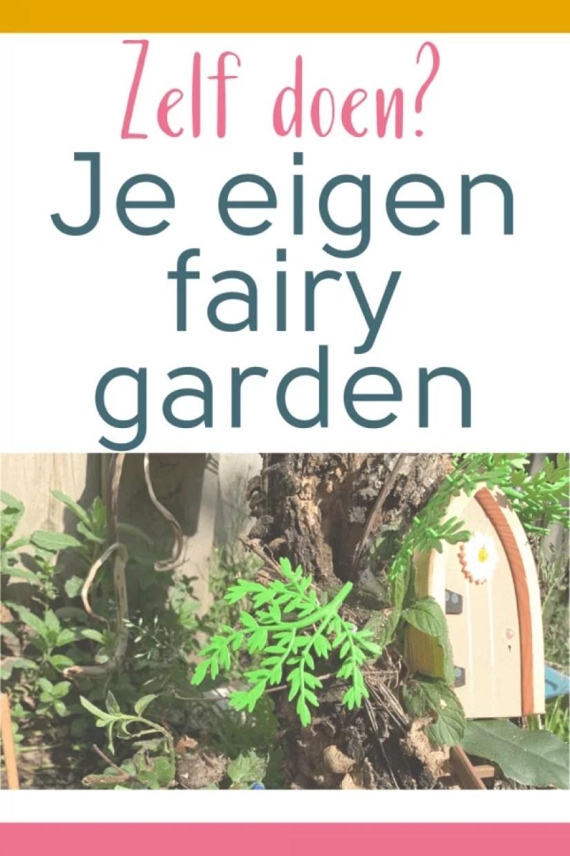 Zelf doen? Je eigen Fairy garden