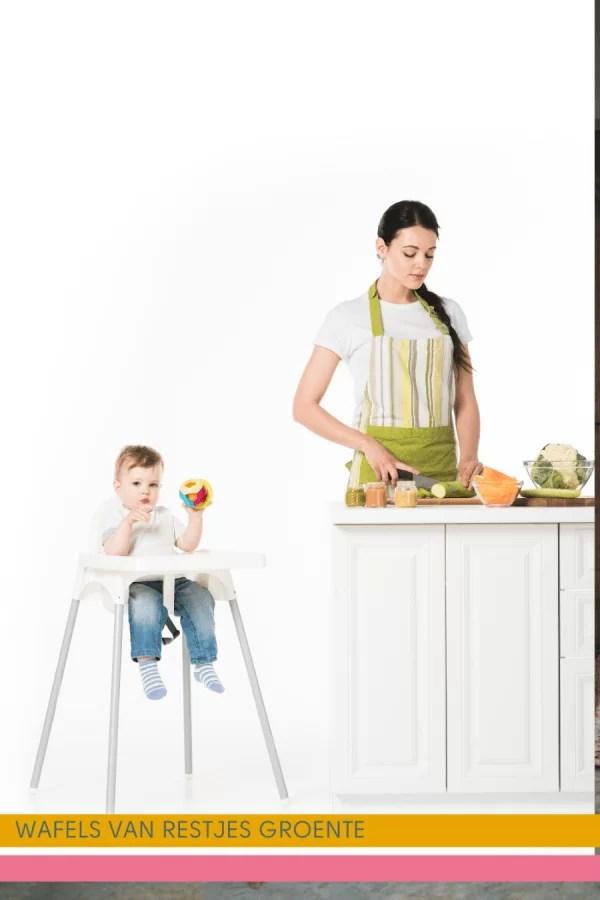 Maak de lekkerste wafels met restjes groente