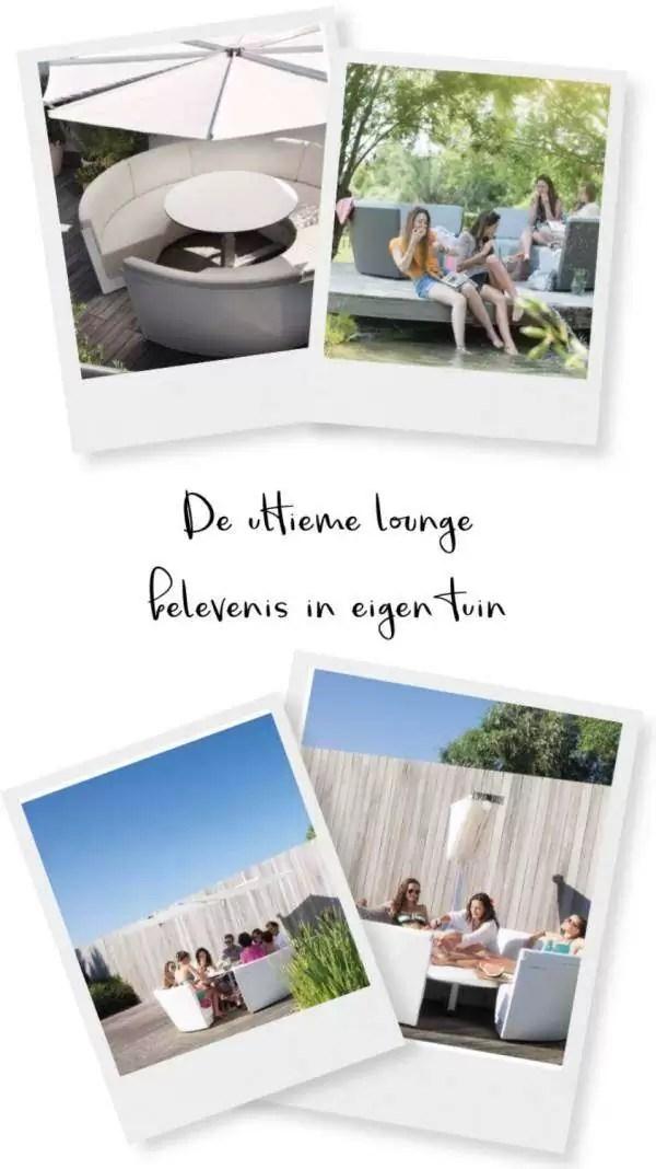 De ultieme lounge belevenis in eigen tuin