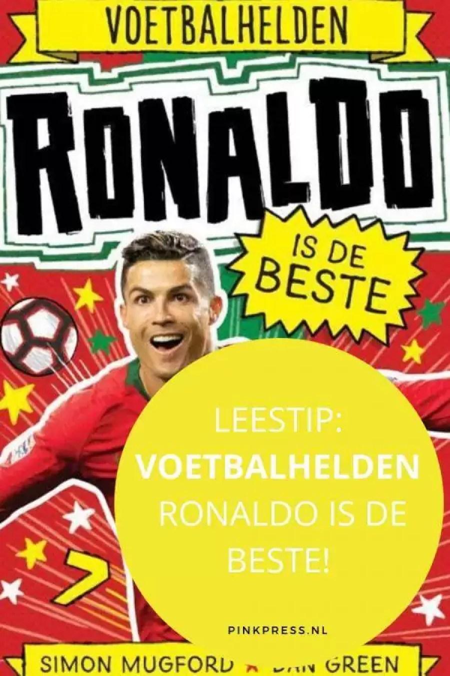 Leestip: VOETBALHELDEN - Ronaldo is de beste!