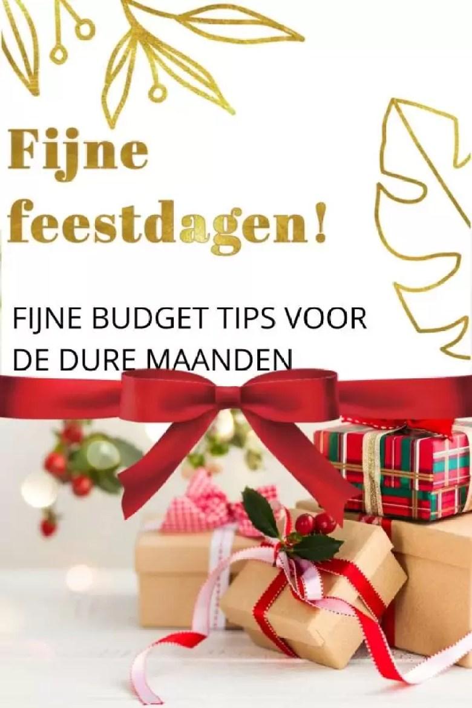 fijne budget tips voor de dure maanden