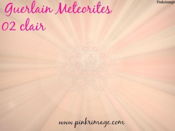 Sample Review- Guerlain Meteorites Clair 02