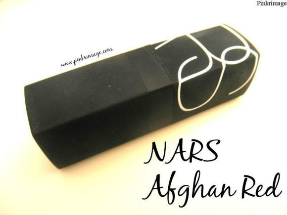 NARS Afghan Red Lipstick- Review & Swatches