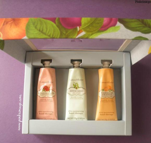 Crabtree & Evelyn Botanicals Hand Therapy set- Review