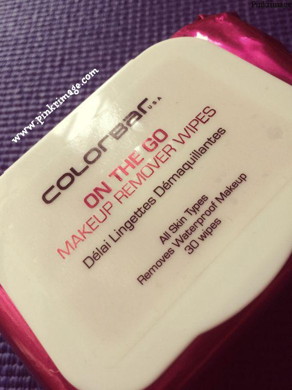 Colorbar On The Go Makeup Remover Wipes – Review