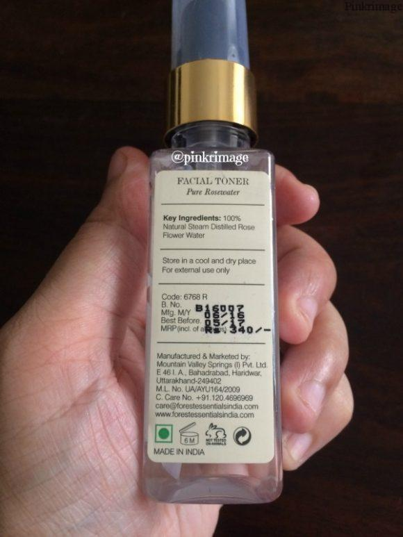 Forest essentials pure rosewater facial toner review (3)
