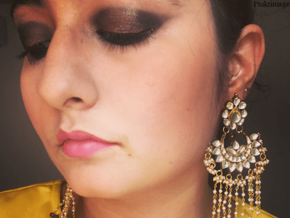 Indian Festive Makeup Look For Navratri/Diwali