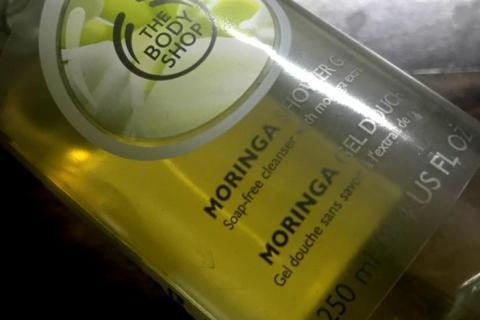 The Body Shop Moringa shower gel review