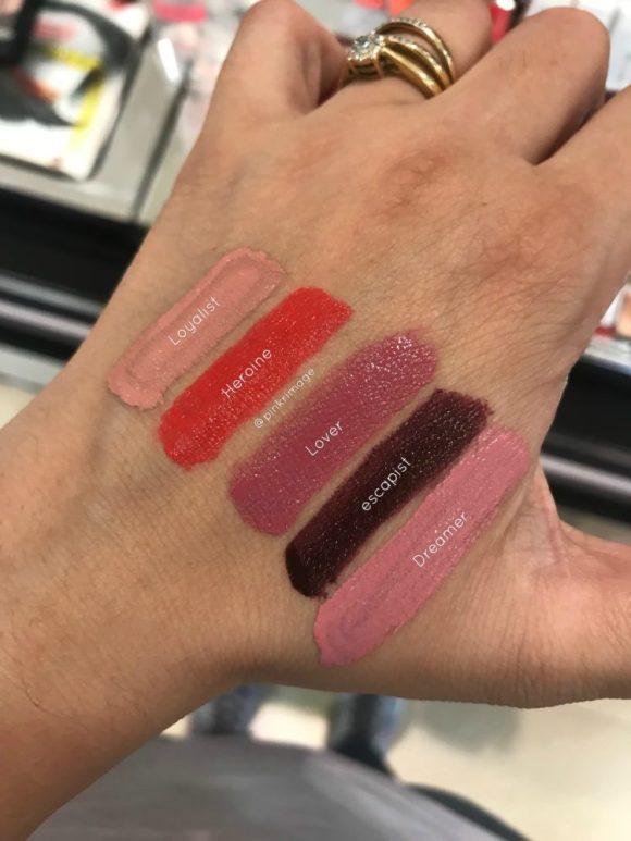 Maybelline Superstay Matte Ink Liquid Lipsticks swatches