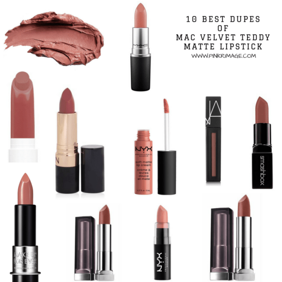 10 Best Dupes for MAC Velvet Teddy Matte Lipstick