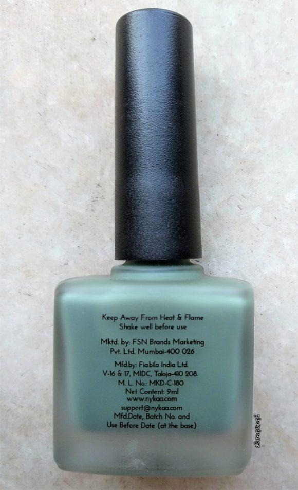 nykaa best matte nail polish