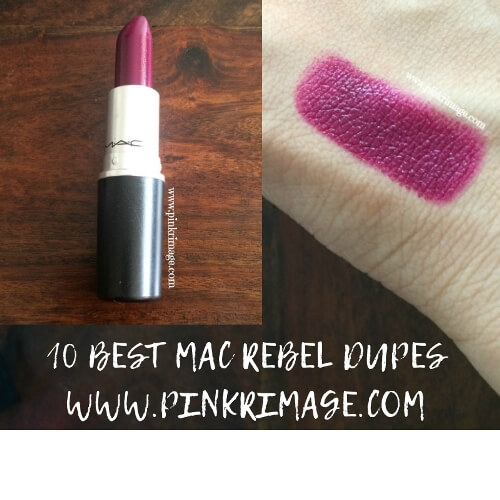 Ten Best Dupes of MAC Rebel Lipstick