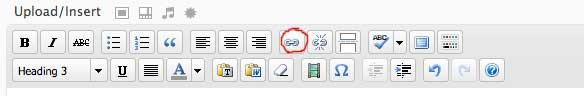 wordpress link icons