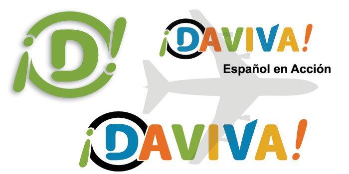 Brand identity for Daviva, spanish in action