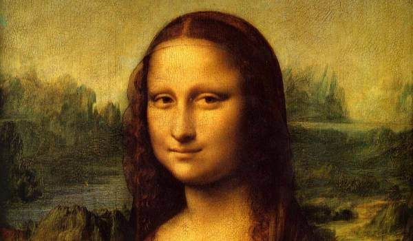 Well, hello. It's the Mona Lisa.
