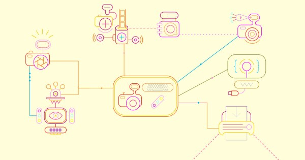 A hub in the middle, is drawn to show how it connects to the channels and communities around it.
