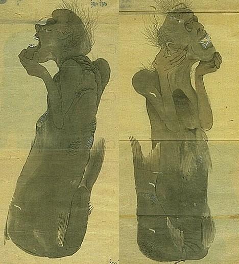 Mermaids depicted by Ito Keisuke