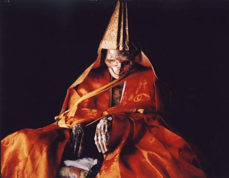 Self-mummified monk