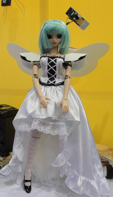 AYA at Robo Japan 2008 --
