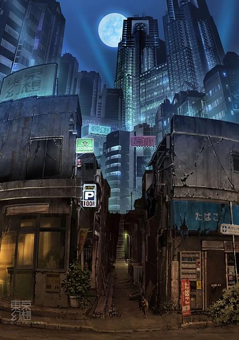 Токийская фантазия: постапокалиптическая Токио -
