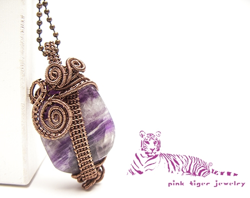 One-Eyed Owl Dark Purple Fluorite