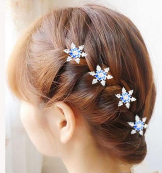 pinkvanillech  HaarAccessoire Haarschmuck Curlie Frozen