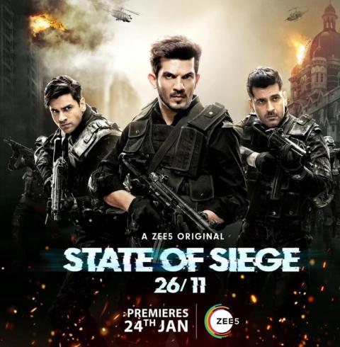Download State of Siege 26/11 (2020) Season 1 Complete ZEE5 Hindi WEB Series 480p || 720p WEB-DL
