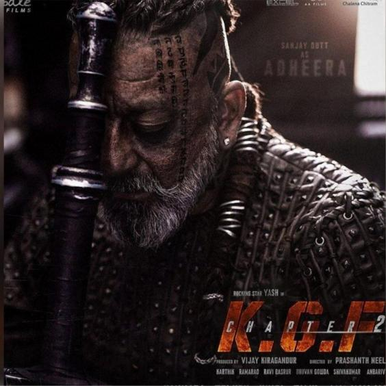 KGF Chapter 2: Shooting of Sanjay Dutt's portions in the Yash starrer is almost finished; Only dubbing left | PINKVILLA