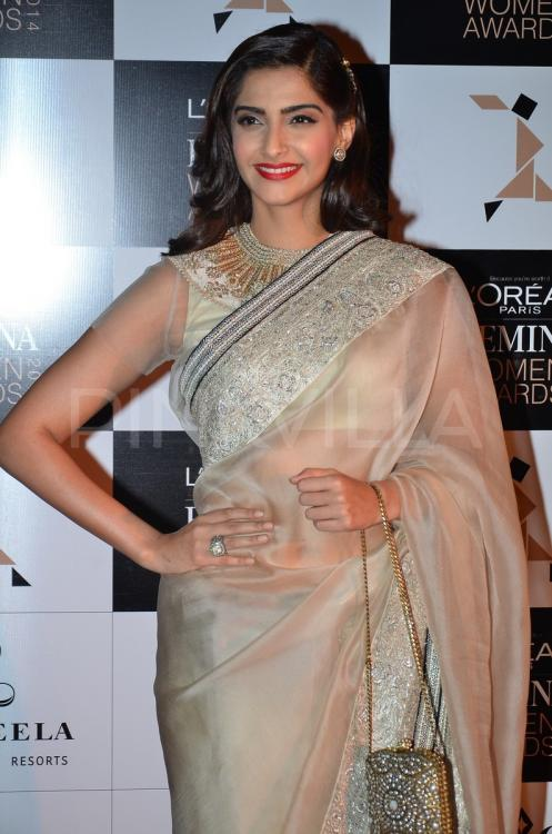 Sonam Kapoor At The LOreal Paris Femina Women Awards