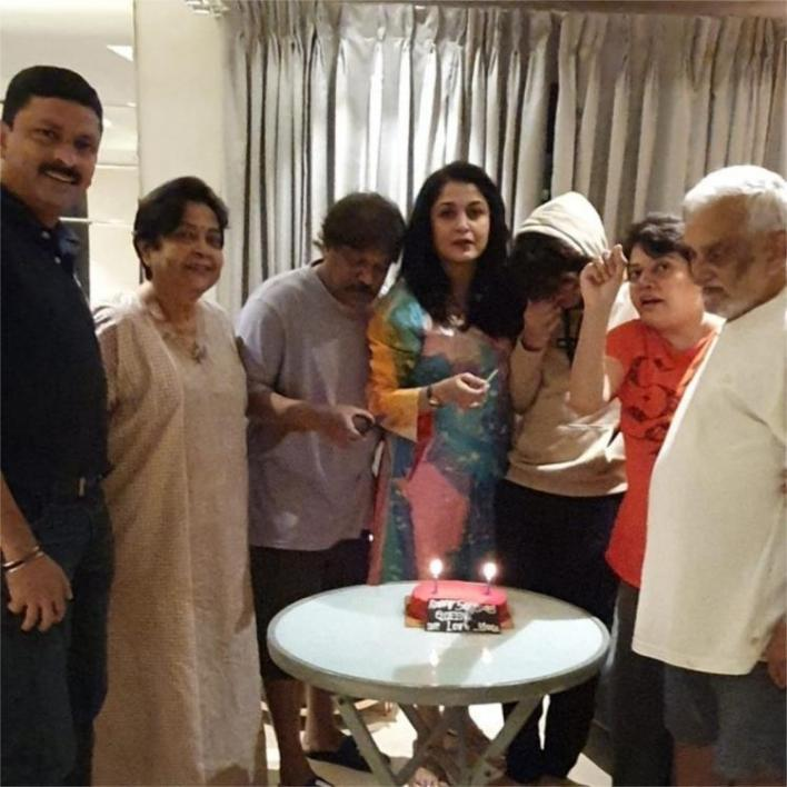 Ramya Krishnan has a low key birthday celebration with her family as she turns 50; See PHOTO