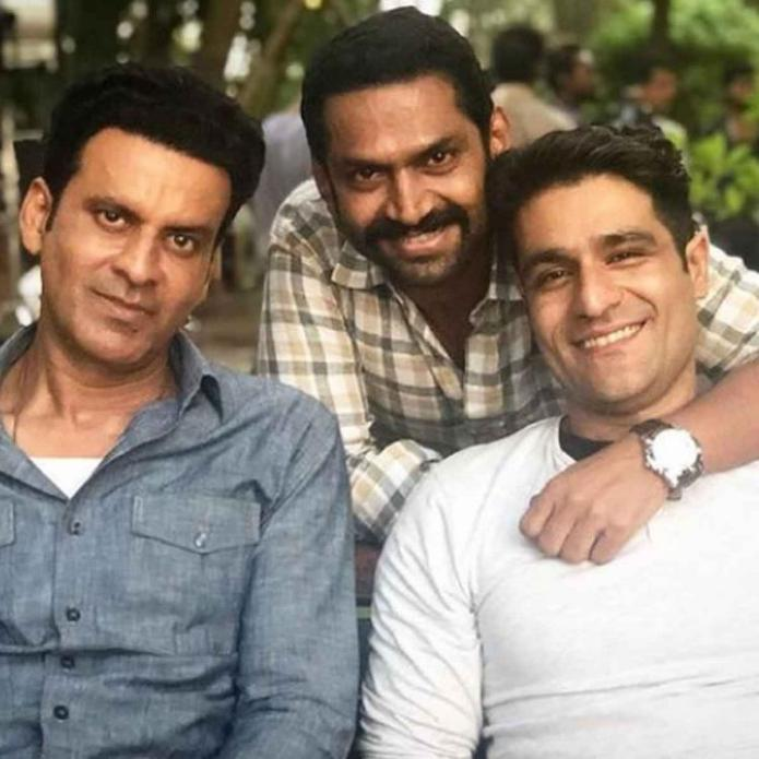 The Family Man 2: Sharib Hashmi gives a glimpse of 'Tasc ke Tridev' in a BTS pic with Manoj Bajpayee & Sunny