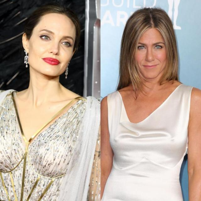 "Angelina Jolie also recalled her not so ""proper"" meeting with Jennifer Aniston before falling in love with Brad Pitt."
