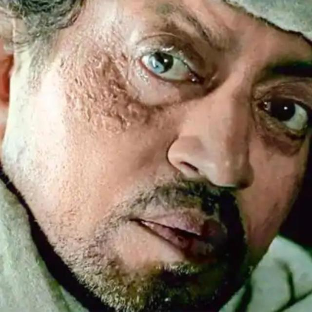 Late Irrfan Khan in Haider (2014)