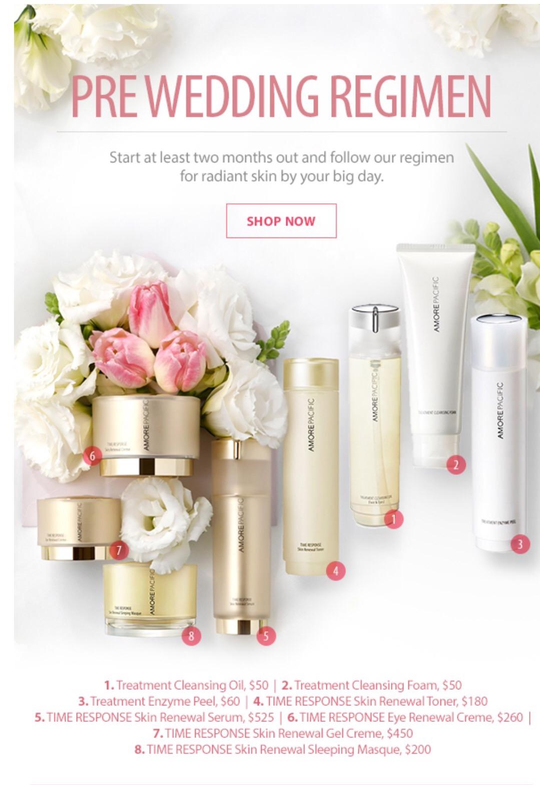 Bridal Beauty Prep w/ AmorePacific