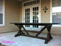 Diy 20 Outdoor Patio Bench - Pinkwhen