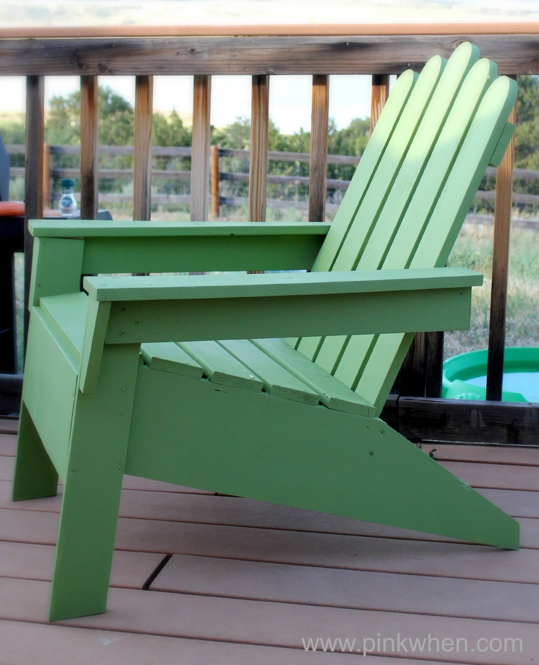 how to build an adirondack chair knotted melati hanging diy chairs page 2 of pinkwhen