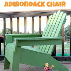 How To Build An Adirondack Chair Nice Computer Chairs Make Pinkwhen