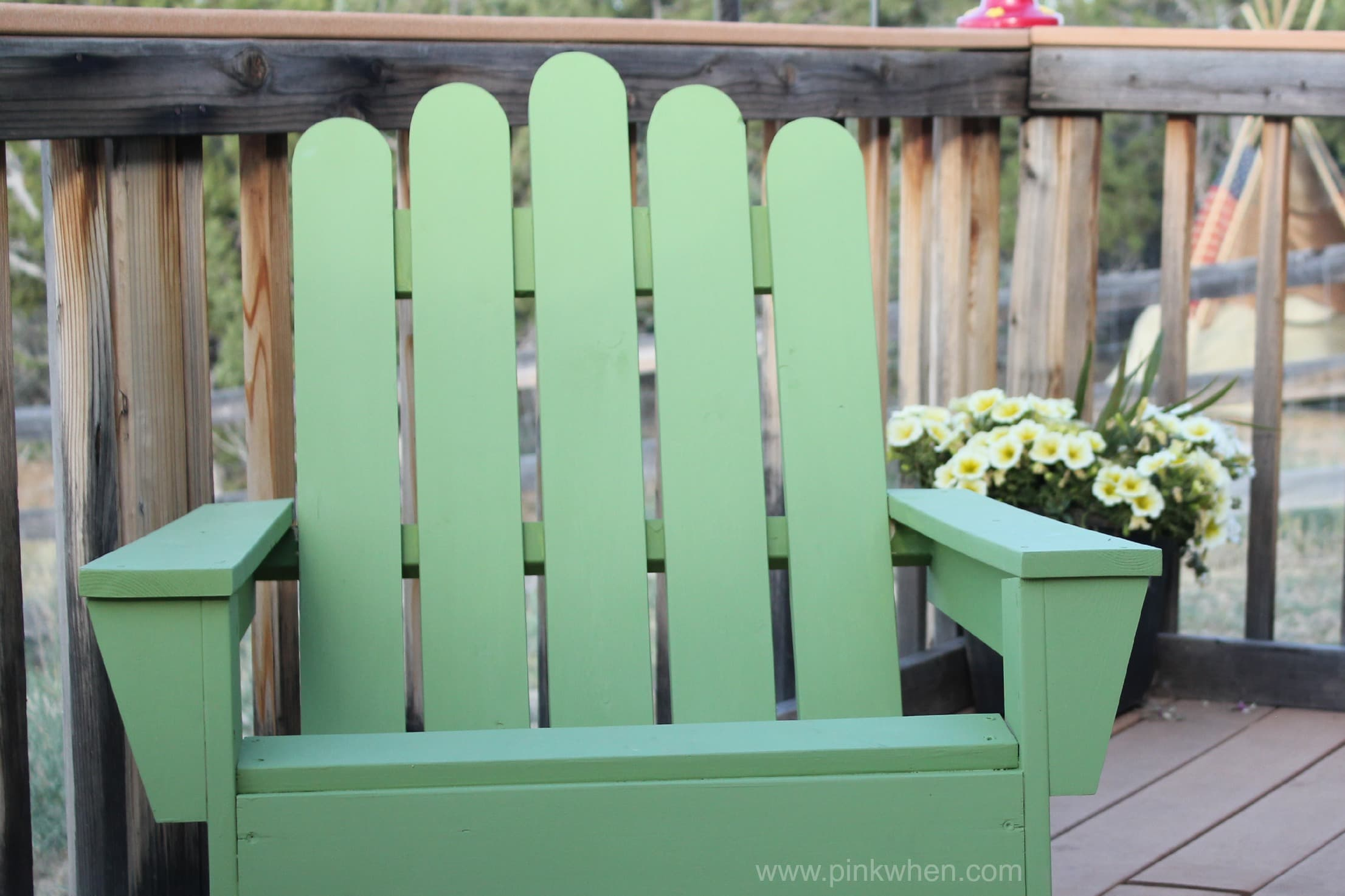 how to build an adirondack chair exercise ball as office calories burned diy chairs page 2 of pinkwhen