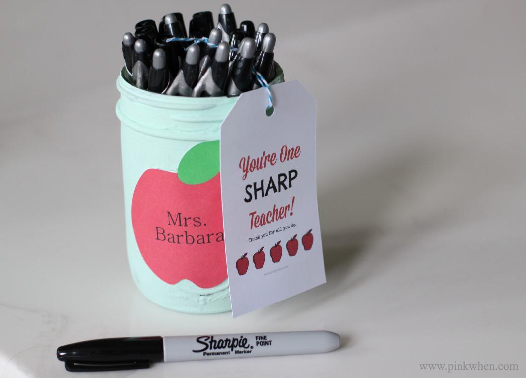 Sharp Teacher Gift