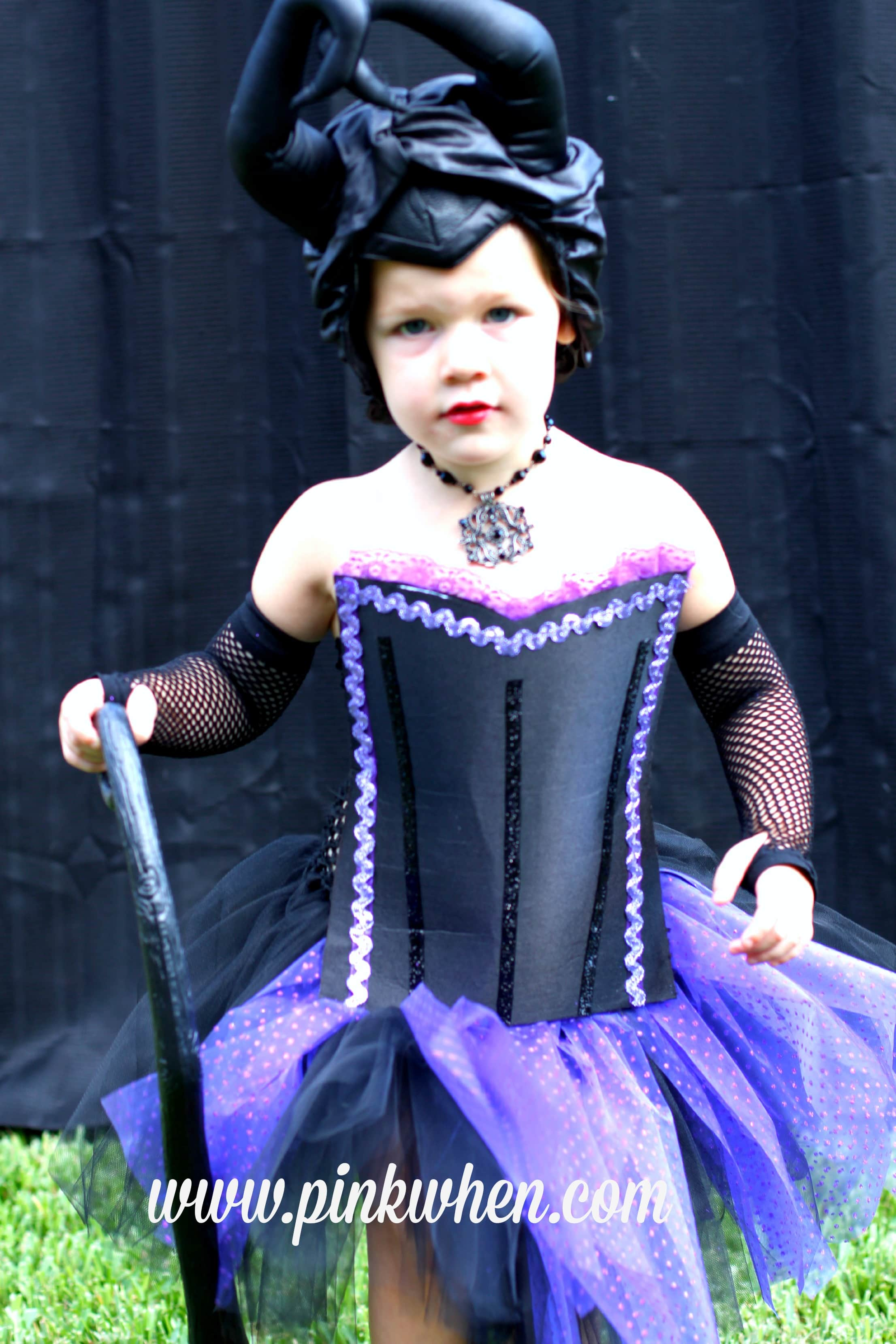 DIY No Sew Maleficent Costume  Page 2 of 2  PinkWhen