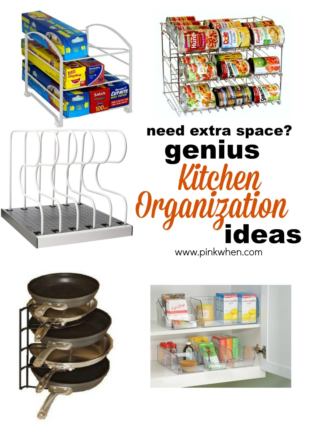 Genius Ideas for Organizing the Kitchen 1 Small Kitchen Storage Solutions