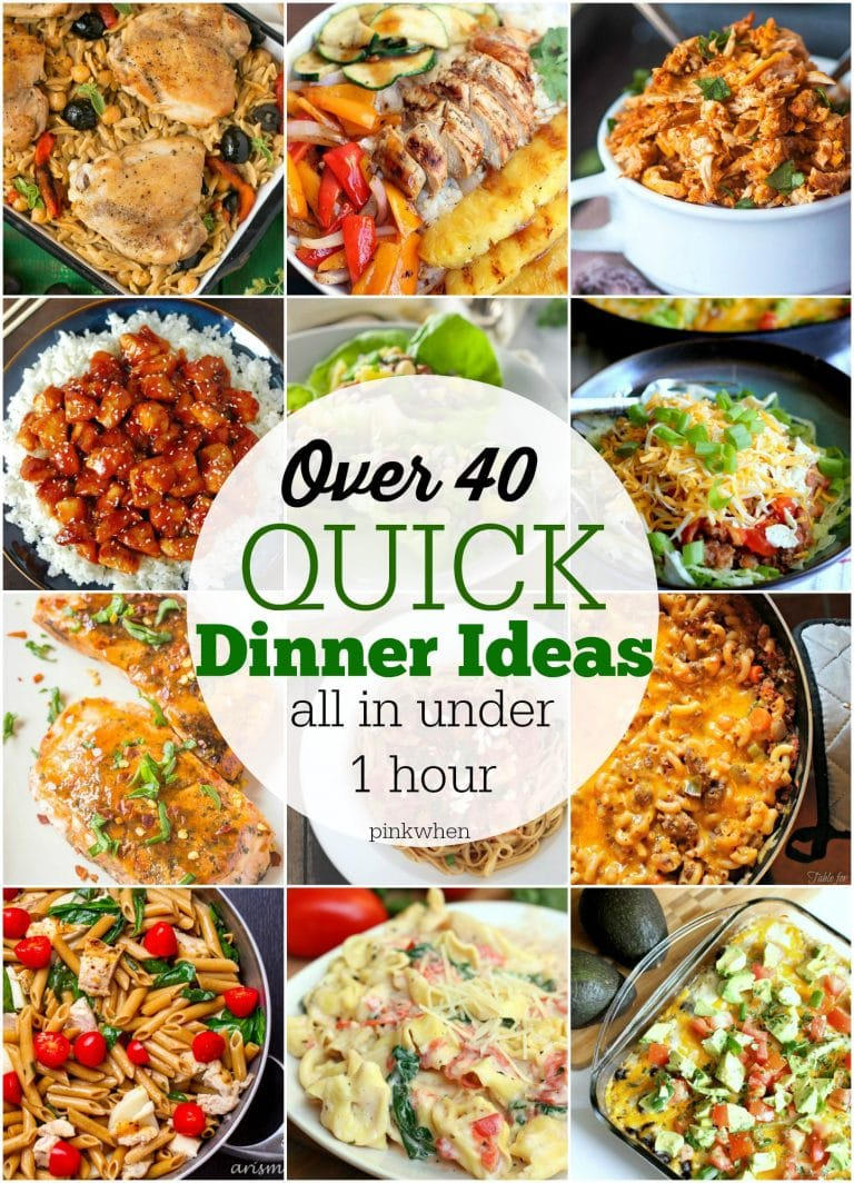 Quick Easy Dinner Ideas