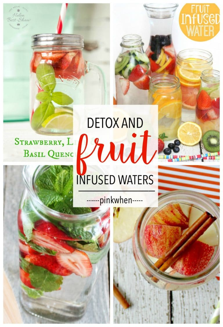 8 Delicious Fruit Infused Detox Waters  PinkWhen