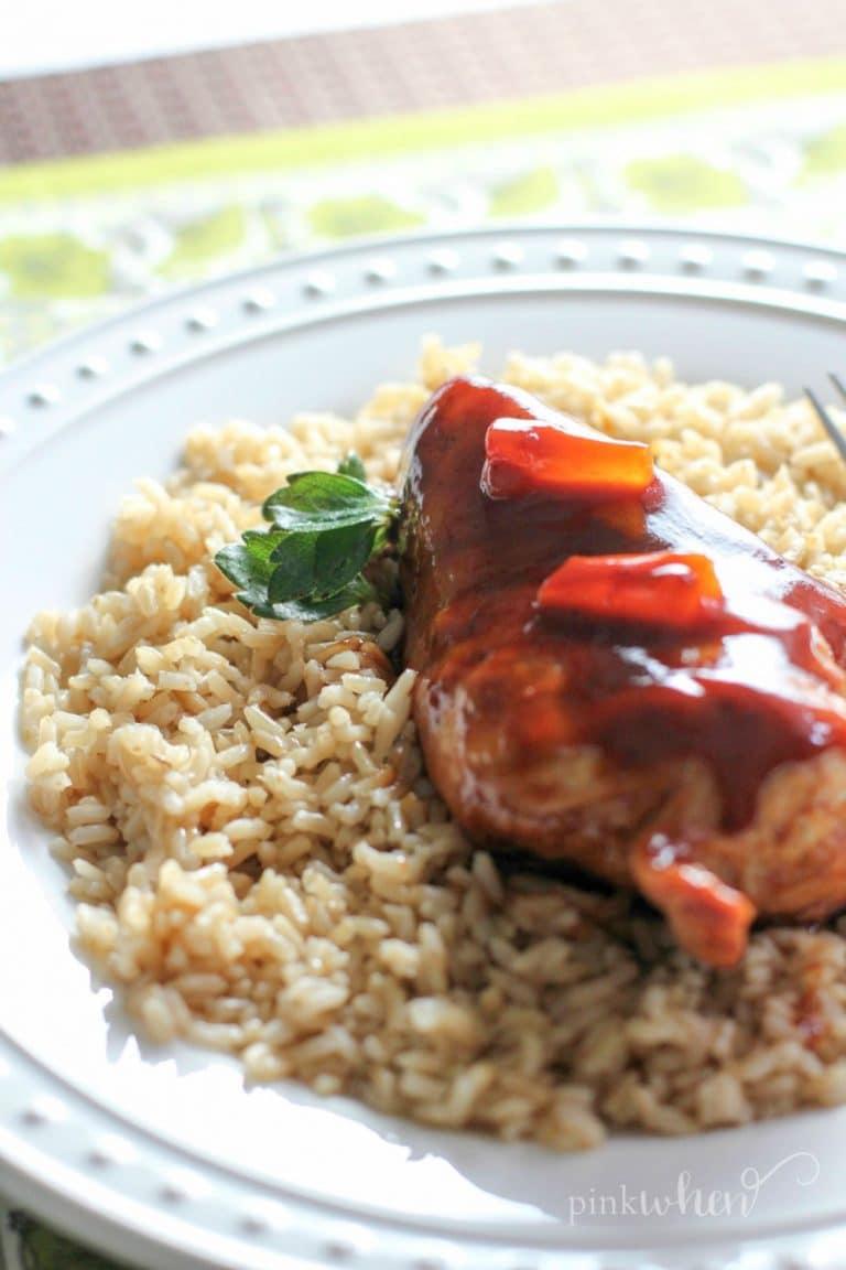 Easy Healthy Instant Pot Hawaiian Chicken Recipe