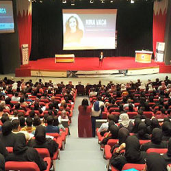Nina Vaca to Promote Entrepreneurship in Bahrain