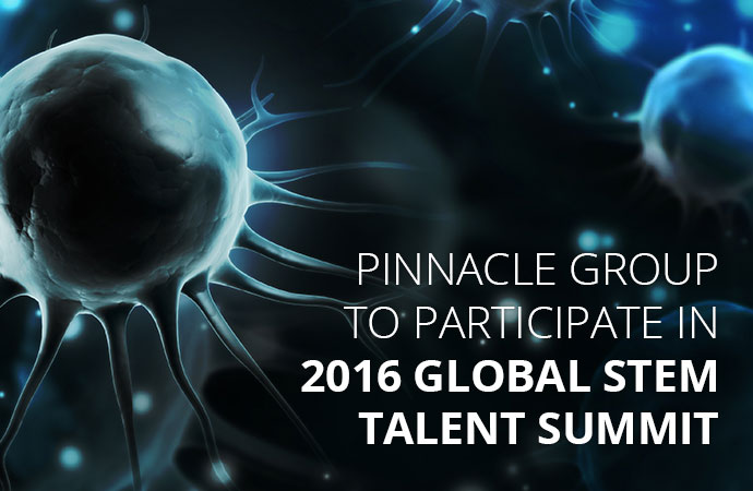 Pinnacle Group to Participate at the 2016 Global STEM Talent Summit