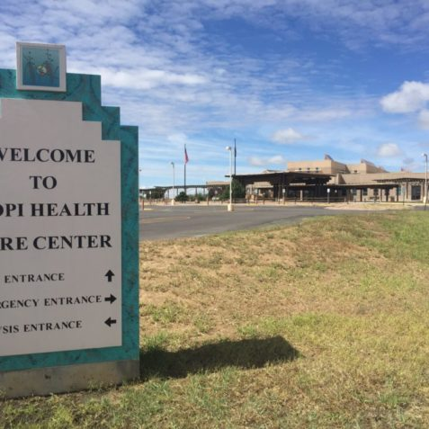 One of our partner hospitals, Hopi Health Care Center in Polacca, AZ.