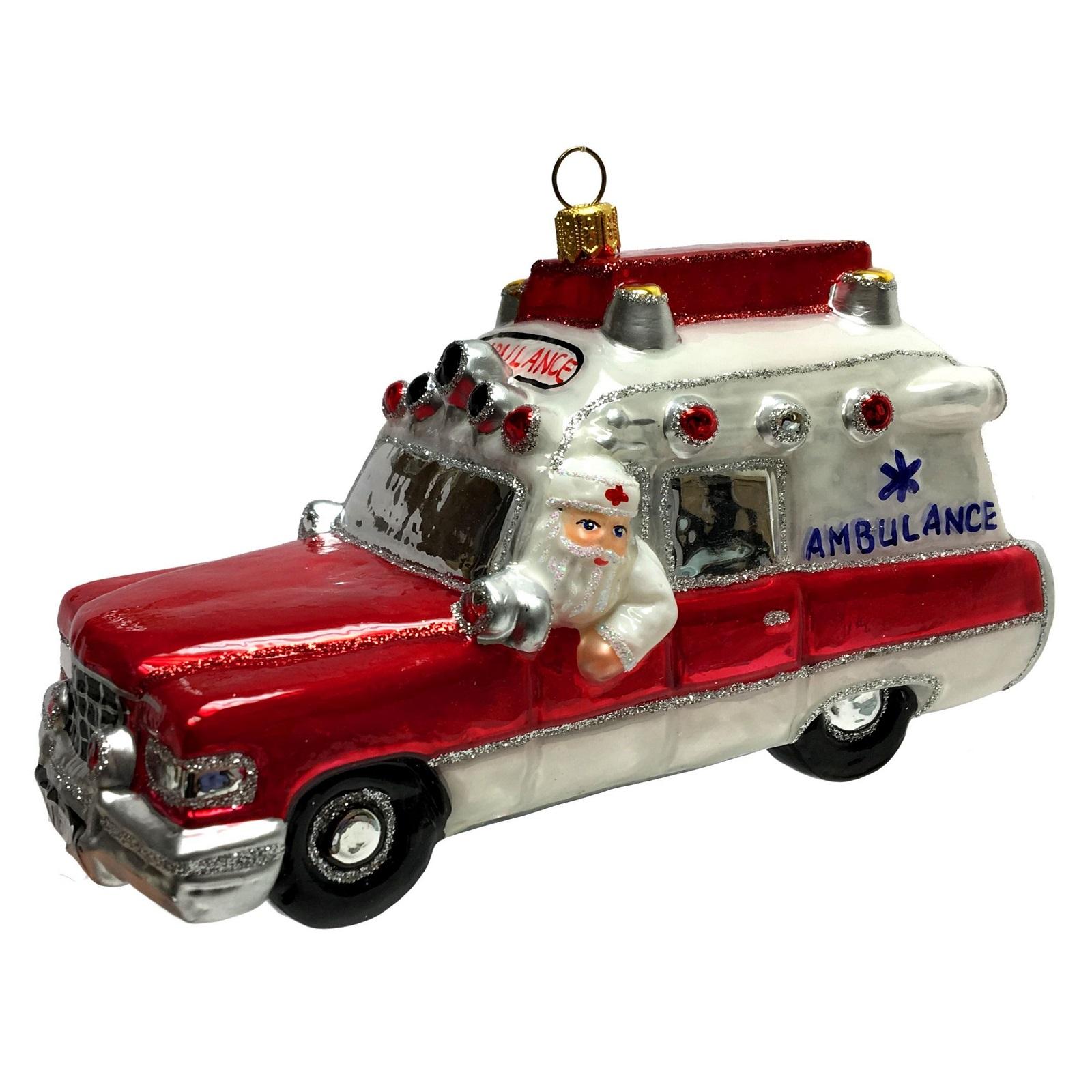 Ambulance Christmas Ornaments