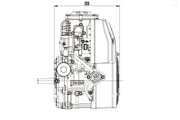 17 5HP Vertical Shaft Engine Motor Ride ON Mower Name