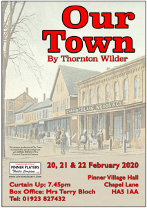 Our Town by Thornton Wilde